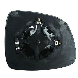 Fiat Sedici [06 on] Clip In Heated Wing Mirror Glass